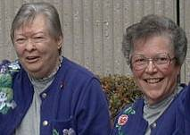 Jean (left) and Ellie