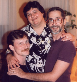 Photo of 3 Affirmation friends in 1987