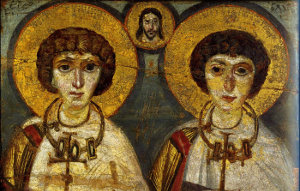 Sergius and Baccus Icon
