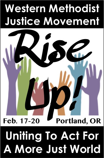 Western Methodist Justice Movement Rise Up! logo